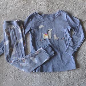 Purple Llama Pajamas Set * 4T